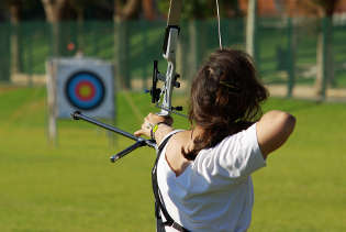 Archery athlete