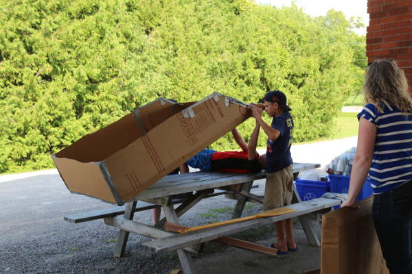 DIY boat building contest